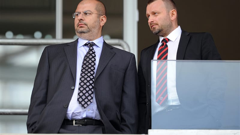 Widening his portfolio: Prince Abdullah, left, was announced last week as new joint owner of Sheffield United [GETTY]