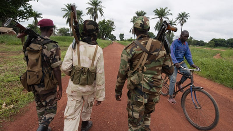 Central African Republic turned violent in early 2013 when armed rebels seized power in the country [AP]