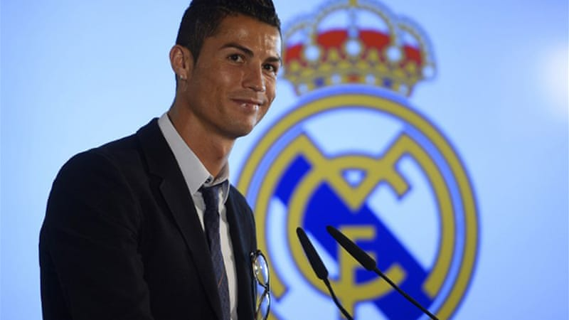 Real received a boost with the news Cristiano Ronaldo signed a new deal tying him to the club until 2018 [AFP]
