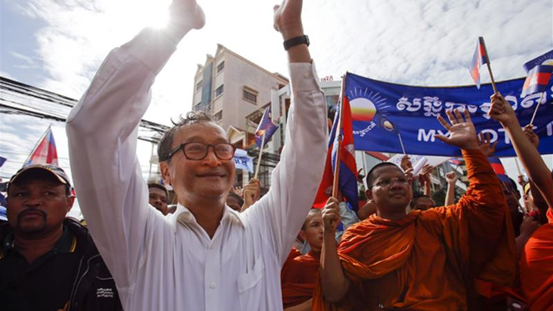 Malaysia seeks country to take detained Cambodian opposition leader