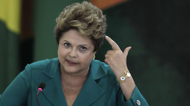 Rousseff demanded answers from the US after leaks that the NSA spied on her government [AP]