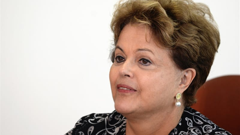 President Dilma Rousseff cancelled a visit to Washington after revelations of NSA spying on Brazil emerged [AFP]