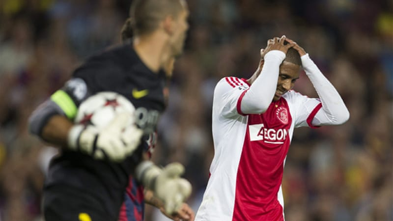 Valdes played a pivotal role in Wednesday's Champions League opener against Ajax [EPA]