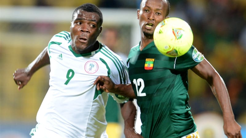 Nigeria have drawn Ethiopia, who they last met in the Africa Cup of Nations in January [GETTY]