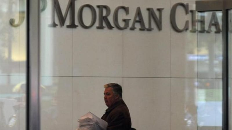 Under the terms of the settlement with Justice Department, JPMorgan Case admits no wrongdoing [EPA]