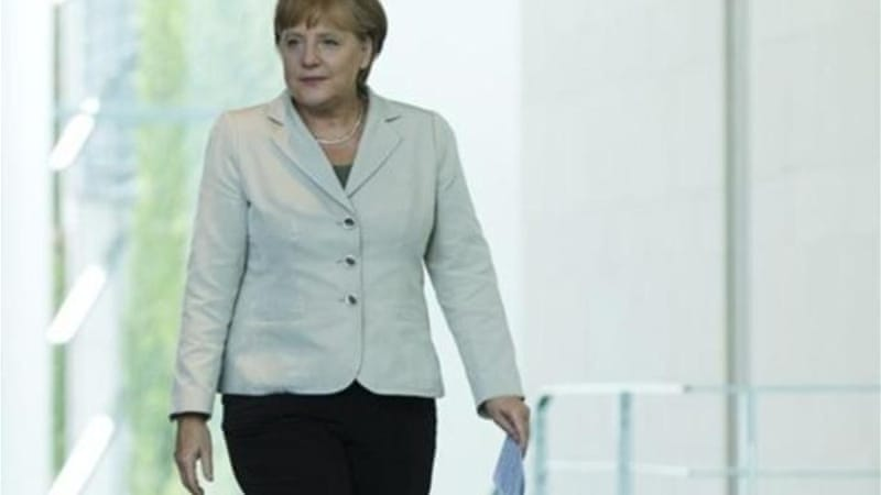 Merkel now reportedly believes the eurozone would be able to cope with Greek exit if necessary [Getty Images]
