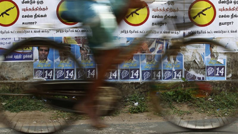 Many Tamils are hoping the upcoming provincial elections will be a step towards autonomy [Reuters]