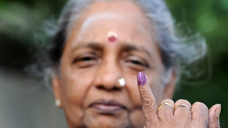 Sri Lanka's Tamil minority are voting for the first time in provincial elections after decades of struggle [AFP]