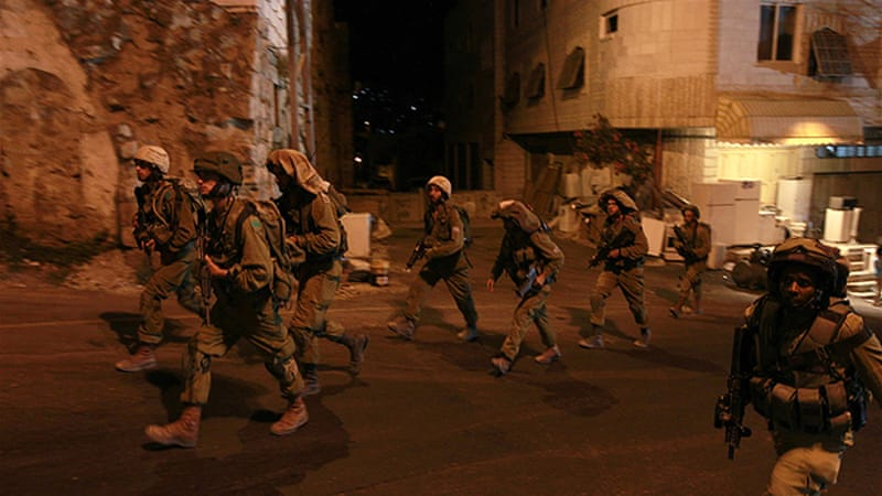 An army spokesman rebuffed suggestions the killings indicated a deterioration in Israel's security situation [Reuters]