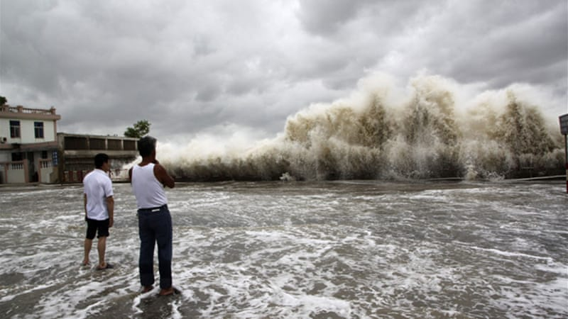 Typhoon Wutip like those before it cause devastation in the region with many reported missing  [File:Reuters]