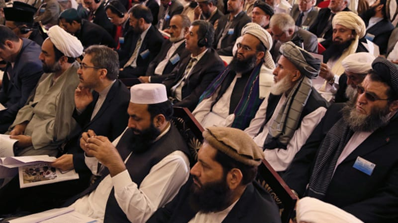 Those gathered in Kabul said Islam did not sanction the killing of innocent civilians [EPA]