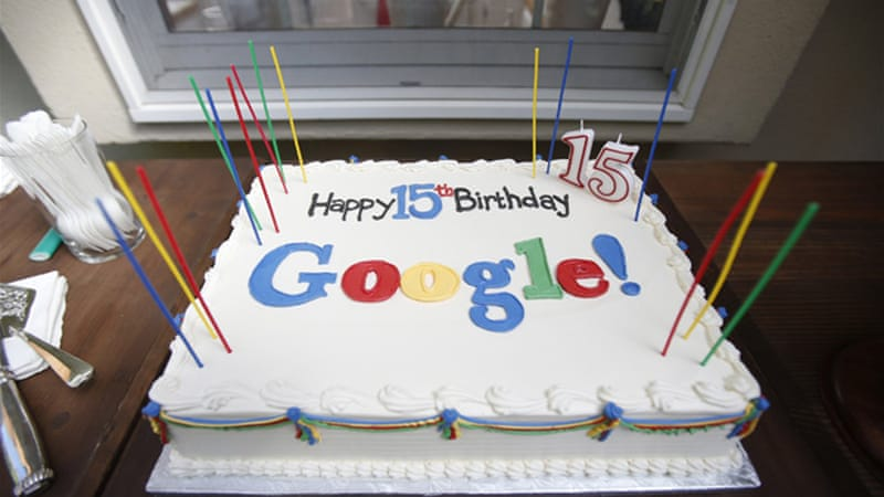 Google celebrates 15th birthday with update to search engine formula, which helped spawn the tech giant  [Reuters]