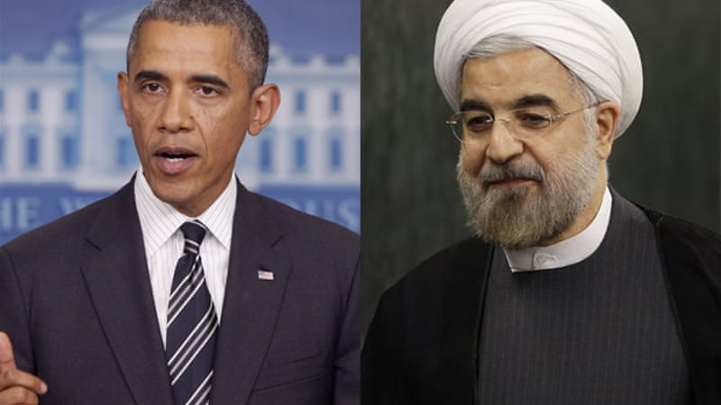 Iran's President Hassan Rouhani had landmark 15-minute phone conversation with US President Barack Obama [AP]