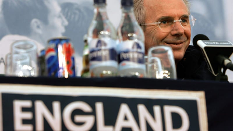 The Swede, who started his coaching career in 1977, took the helm at England in 2001 [EPA]