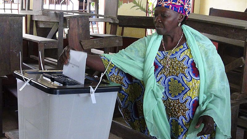 Guineans voted in parliamentary elections on September 28, completing a transition from military rule [Reuters]