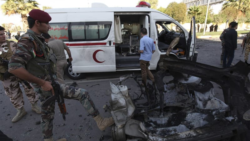 Deadly suicide bombings hit Iraq