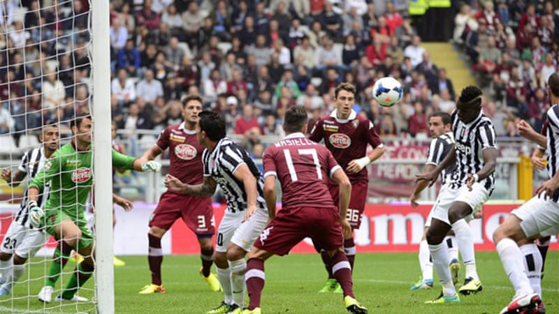 The Serie A champions completed their ninth match against Torino without conceding a goal [AFP]