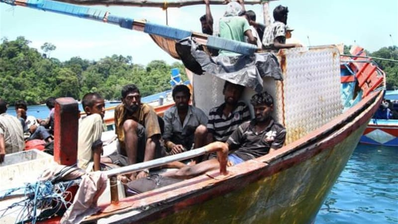 The boat carrying mostly Tamils left India two weeks ago [File: AFP]