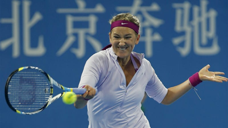 Azarenka served up 15 double faults and 44 unforced errors in her three-set loss to Petkovic [Reuters]