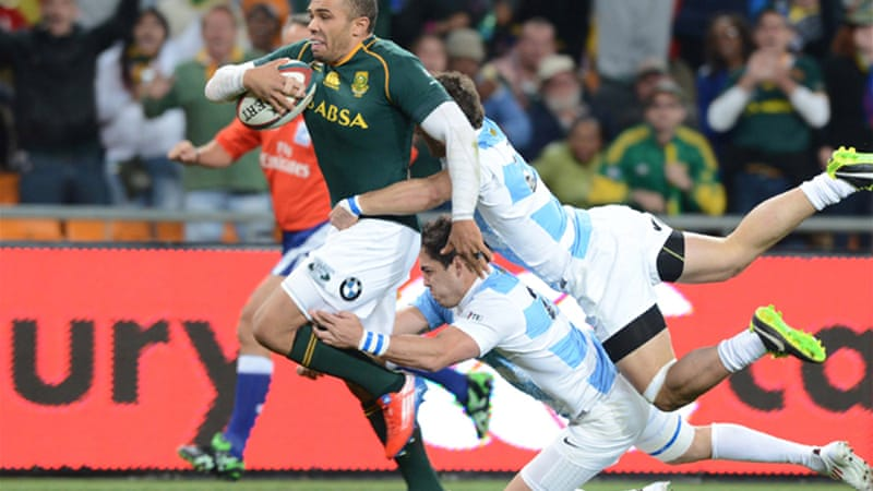 The Springboks are unbeaten in the tournament after back-to-back wins over Argentina [GETTY]
