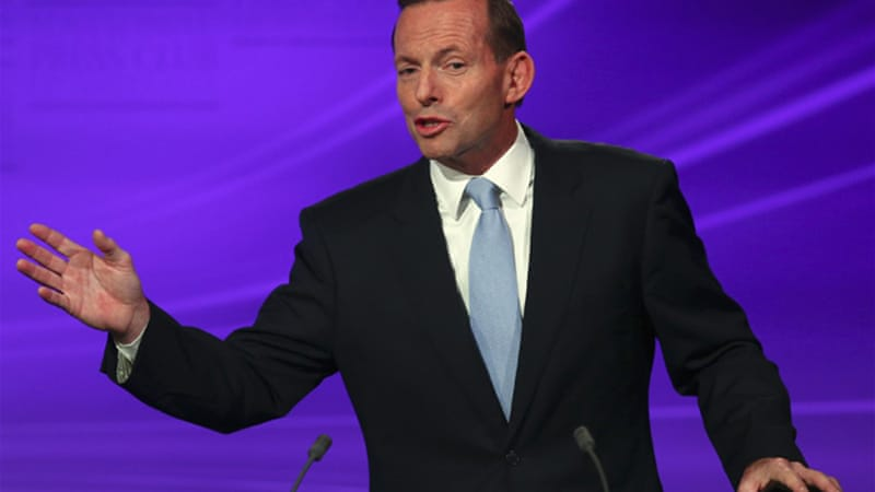 The conservative Tony Abbott is also a fitness buff, Rhodes scholar, and former priest-in-training [Reuters]