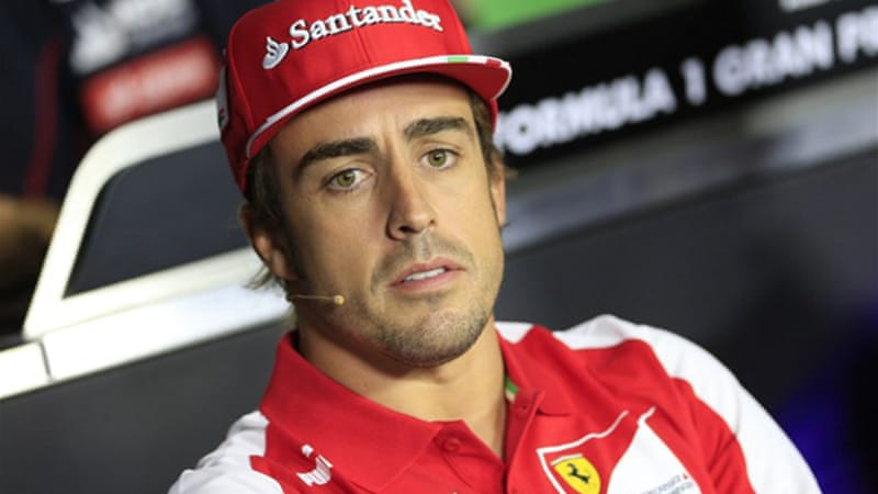 Vettel's closest rival Fernando Alonso lies 60 points behind with six races remaining [AFP]