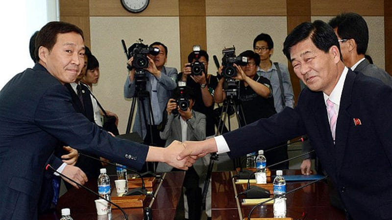 Two Koreas held their first meeting earlier this week aimed at reopening of Kaesong industrial zone [AFP]