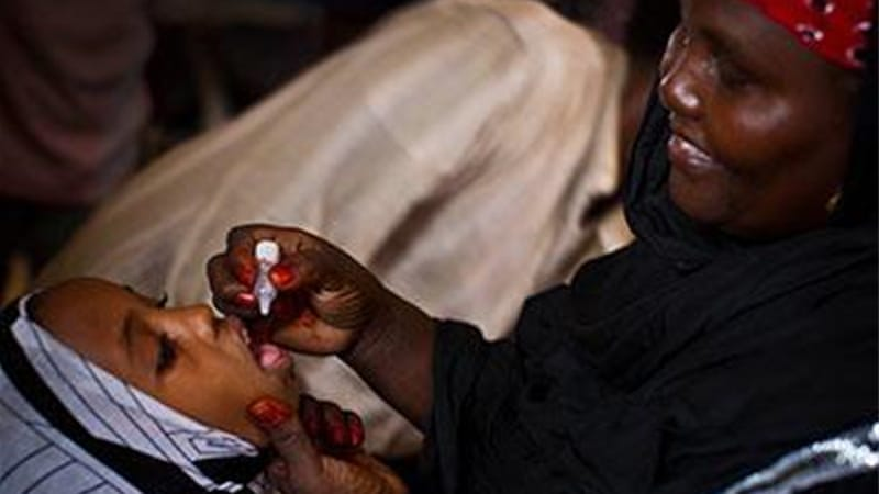 Somalia has begun vaccinating against polio [Unicef]