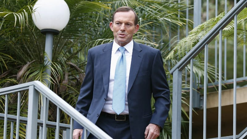 Tony Abbott's conservative Liberal party-led coalition won the Australian elections on Saturday [Reuters]