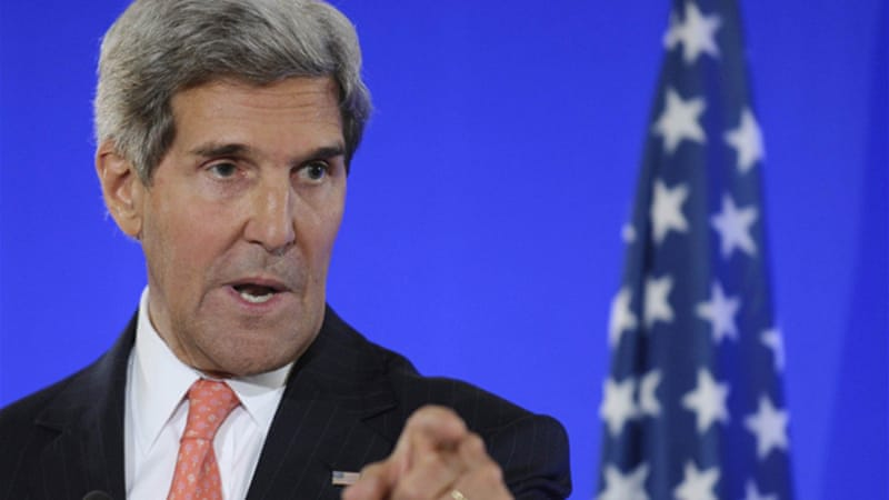 Secretary of State John Kerry made the request to EU leaders while discussing Israeli-Palestinian talks  [Reuters]
