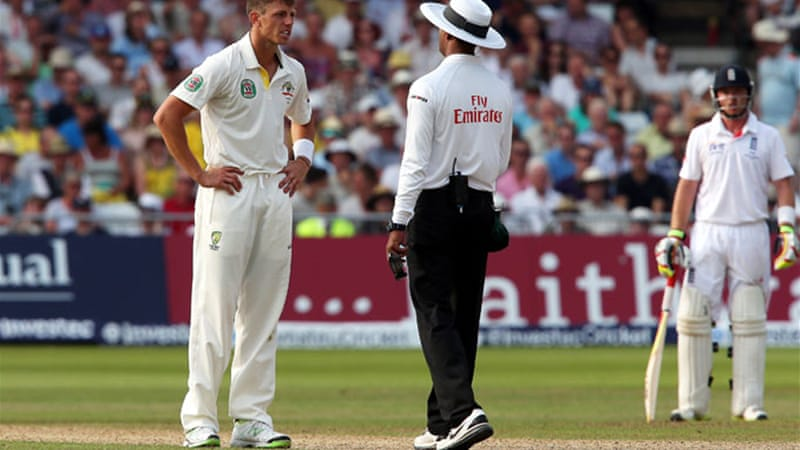 Australia's fast bowlers have all suffered back problems, including James Pattinson, above [EPA]