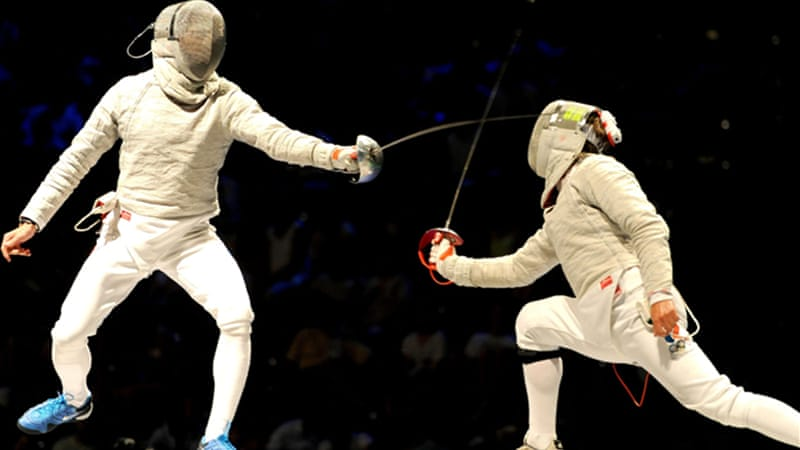 It was an all-Russian affair in the final of the individual sabre final at the recent world championships [EPA]