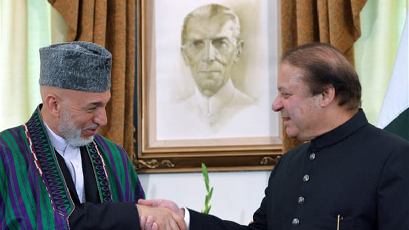 Karzai and Sharif struck a deal last month at a summit in the UK [Reuters]