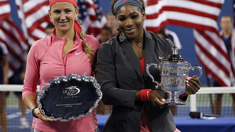 Top seed Serena collected the $2.6m top prize as she won her 17th career grand slam singles title [Reuters]