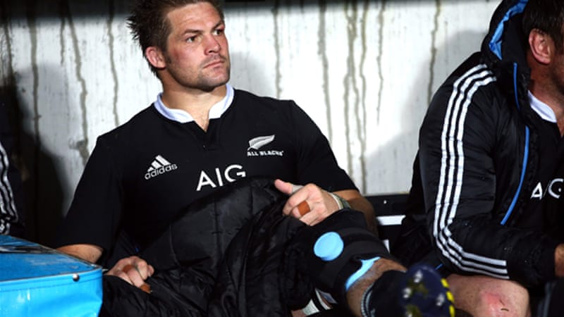 McCaw suffered medial ligament strain in last weekend's clash against Argentina [GETTY]