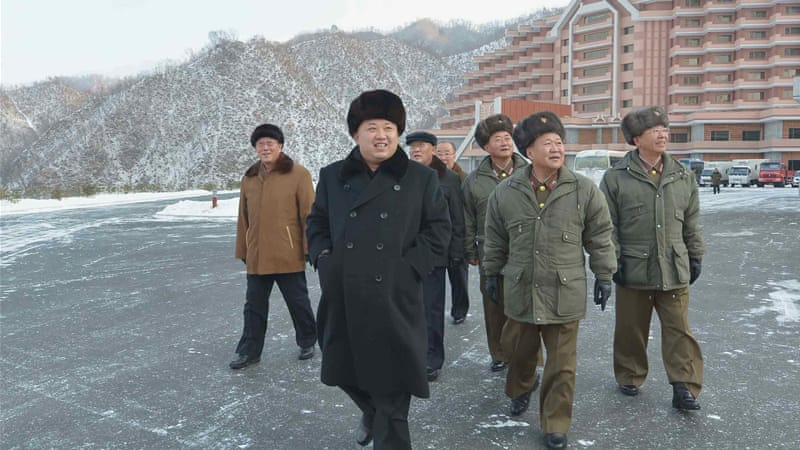 "Kim has labelled his uncle  Jang Song-Thaek ""scum"" in his new year's message [Reuters]"