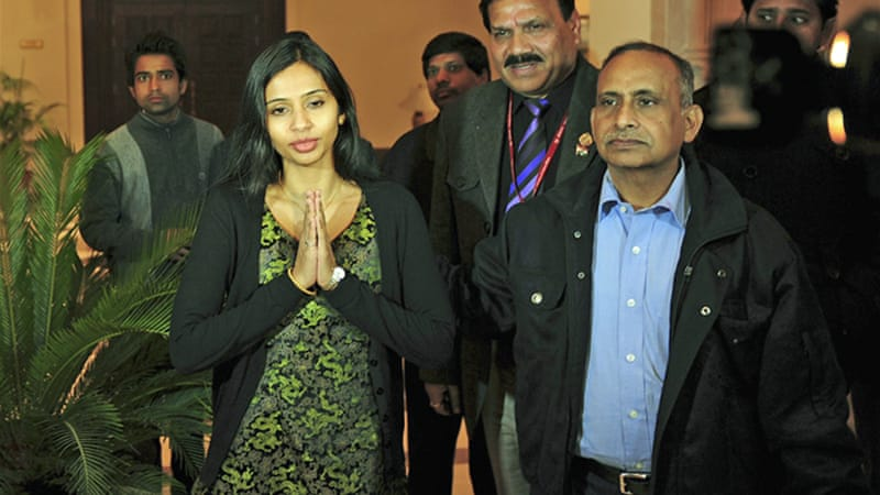 Devyani Khobragade returned to India after she was indicted in a US court [Reuters]