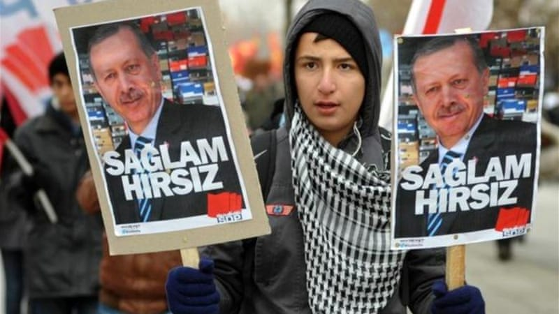 Turkey has the most number of journalists in jail according to a 2013 report[Reuters]