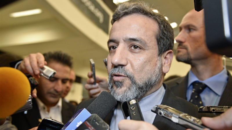 Iran's deputy foreign minister, Abbas Araqchi, is in Geneva for nuclear talks with EU representatives [EPA]