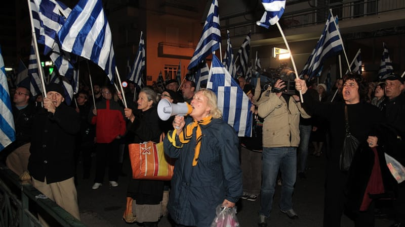 Golden Dawn intends to challenge the government's crackdown in the European Court of Human Rights [EPA]