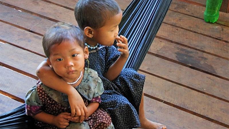 Ethnic minorities across Myanmar protest against Aung San