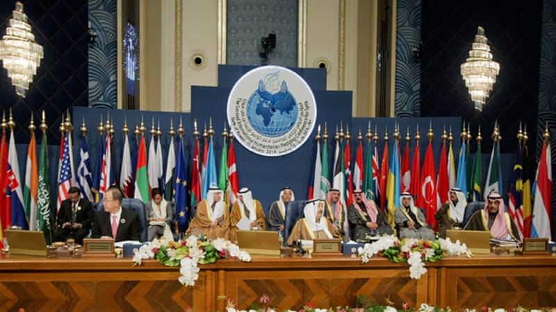 Kuwait opened the conference with a $500m pledge [AP]
