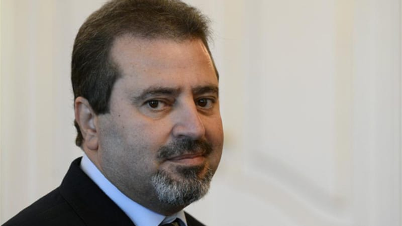 Ambassador Jamal al-Jamal was killed when a bomb exploded inside the Czech embassy [AP]