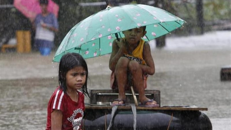 300,000 people are displaced due to week of bad weather officials report [Reuters]