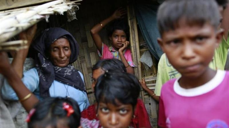 Ethnic violence has seen tens of thousands of people fleeing their homes, most of them Rohingya [Reuters]