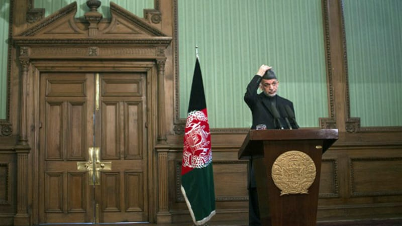 Afghan President Hamid Karzai has called the Bagram prison a 'Taliban-making factory' [AFP]