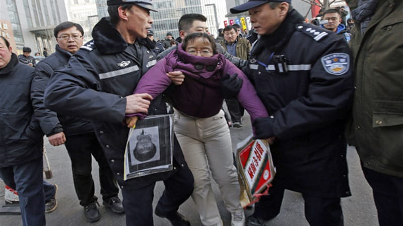 Image result for CHINA:black jails