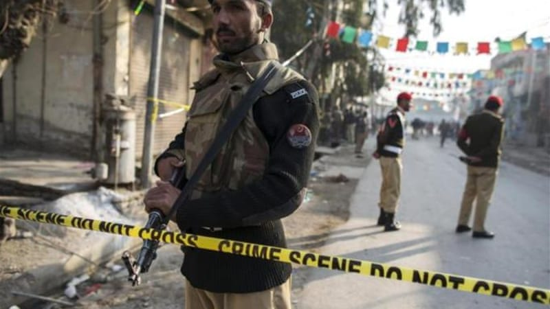 The military raid comes as attacks targeting police officers in Pakistan are on the rise. [Reuters]