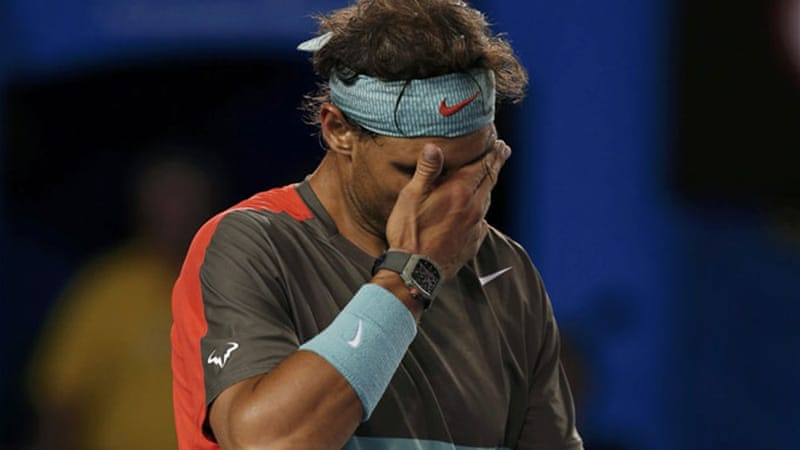 Rafael Nadal's loss to Stanislas Wawrinka at the Australian Open 2014 could signify the end of an era [Reuters]