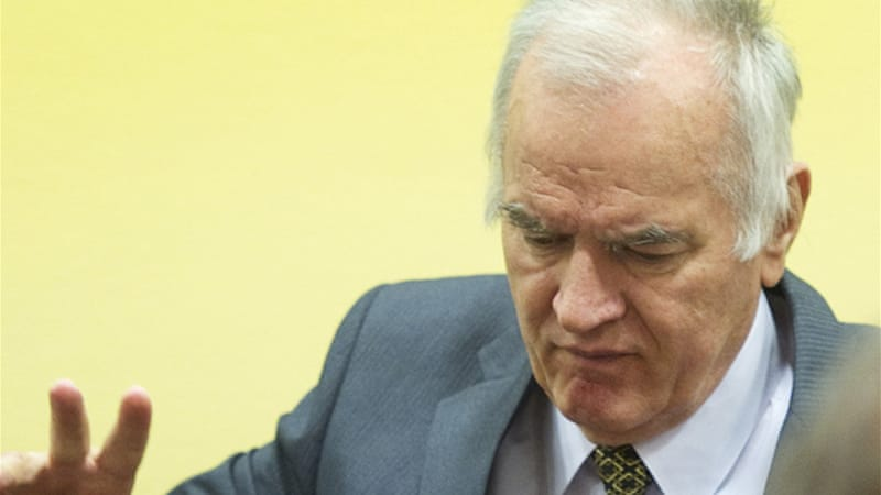 Mladic called the tribunal a 'hate court' and refused to recognise its authority [EPA]
